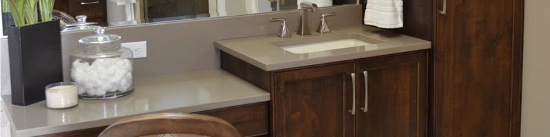 Custom Bath Cabinets and Vanities